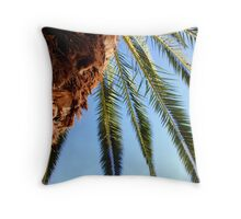 Ibiza Palm Throw Pillow