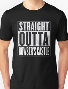 Straight Outta Bowser's Castle - Super Mario T-Shirt