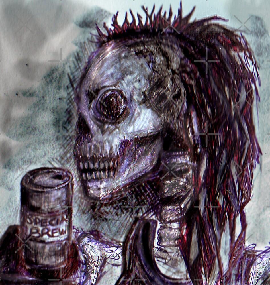 Dredd+BrewCrew+Skull by DreddArt