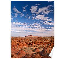 The Coyote Buttes of Northern Arizona Poster