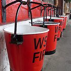 Fire Buckets by Leanne Jones