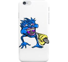 Eat Your Food, Malcolm iPhone Case/Skin