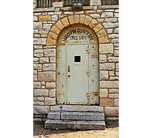 Route 66 - Macoupin County Jail Photographic Print