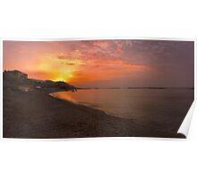 San Bartolomeo al Mare Sunrise. Poster