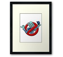 I Ain't Afraid Of No Hitchhiking Ghost - Ezra Framed Print