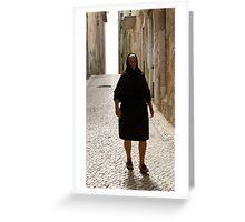 Portuguese Widow, I Greeting Card
