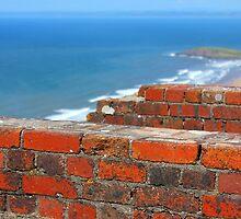 Rhossili Hill Bricks by Pippa Carvell