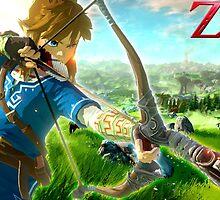 The Legend of Zelda - Wii U by AlfredKamon