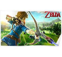 The Legend of Zelda - Wii U Poster