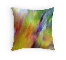 Fall leaves with a twist Throw Pillow