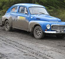 Volvo PV544 - Neath Valley Stages Rally - 2011 by MSport-Images