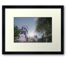 real TALL BOY Framed Print