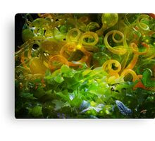 Yellow Magic Canvas Print