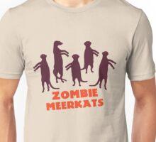 Zombie meerkats! Unisex T-Shirt