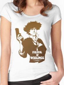 A Fistful of Woolongs Women's Fitted Scoop T-Shirt
