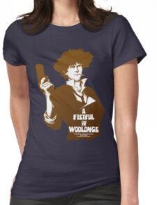 A Fistful of Woolongs Womens Fitted T-Shirt