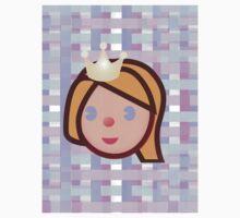 princess emoji Kids Tee