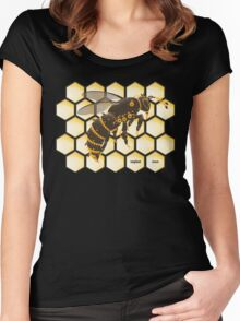 Buzz Buzz Women's Fitted Scoop T-Shirt