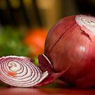 Red Onion by David Preston