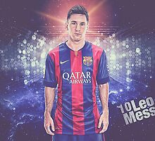 Messi  Soccer Legend Poster 2 by emamalarabiy