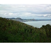 View From Coastal Path  Photographic Print