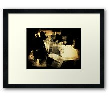 Private Party Framed Print
