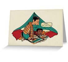 Troy and Abed's Dope Adventures Greeting Card