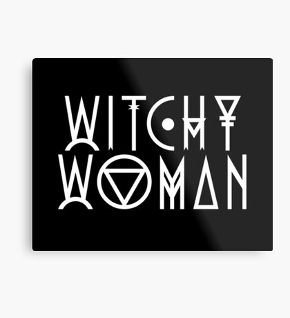 Witchy Woman Metal Print