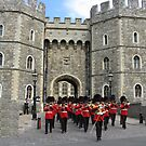 WINDSOR CASTLE AND GUARD by gothgirl