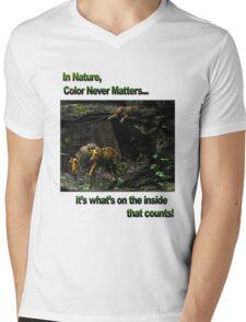 In Nature, Color Never Matters Mens V-Neck T-Shirt