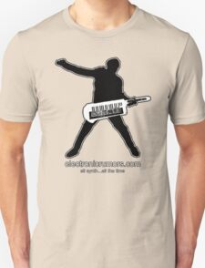 Electronic Rumors:  Keytar Axe-Man, All Synth...All The Time T-Shirt