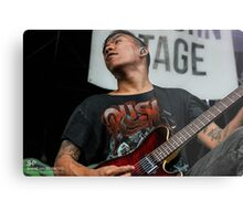Pierce the Veil - Jesse Barrera 2 Metal Print