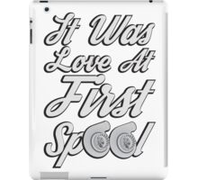 Love at first Spool iPad Case/Skin