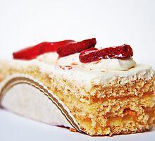 Strawberry Cream Cake by Denise Abé