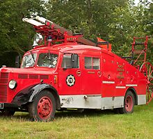 Bedford M Fire Engine 1939 by Jon Lees