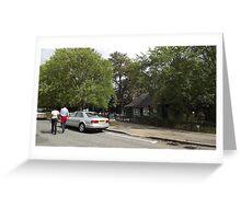 refreshments building -(120811)- digital photo Greeting Card