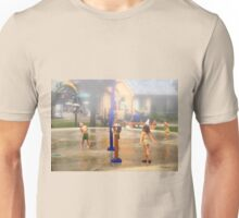 Fun under the Water Fountains Unisex T-Shirt