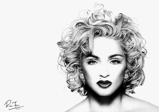 Madonna by Richie Francis