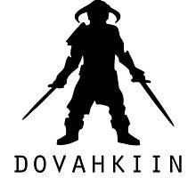 Skyrim Dovahkiin by goblinworkshop