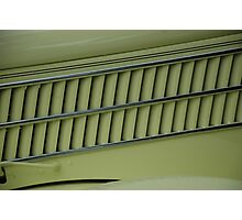 Side Vents 1936 Ford  Photographic Print