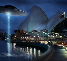 UFO Opera House by Cliff Vestergaard