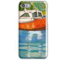 Red Boat North Freo iPhone Case/Skin