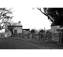 ruralscapes #141, follow the fence Photographic Print