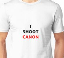 I Shoot Canon Unisex T-Shirt
