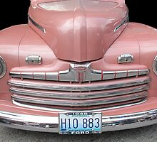1946 Ford Pinkie  by Sherry Graddy