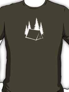 Camp Site - white T-Shirt