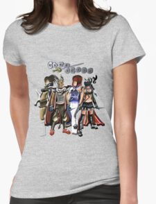Runescape four characters Womens Fitted T-Shirt