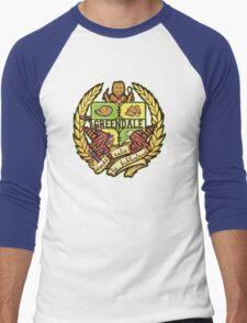 Donde Esta La Biblioteca Men's Baseball ¾ T-Shirt