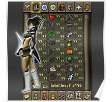 Runescape skill list all 99 Poster