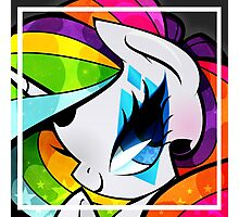 Glam Rock Rarity V2 Photographic Print